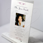 Tri-Fold Funeral Program Design Your Own
